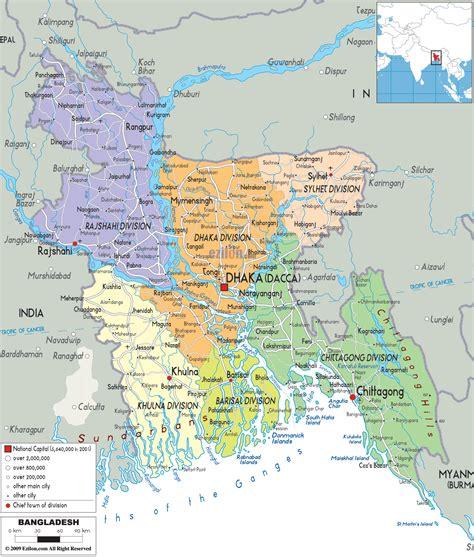 Amar English Blog: Bangladesh Big MAP