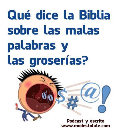 AMARAJESUS: Que dice la Biblia sobre las malas palabras y ...