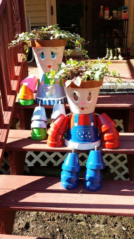Amazing DIY Clay Pot People : Learn How To Make Them   The ...