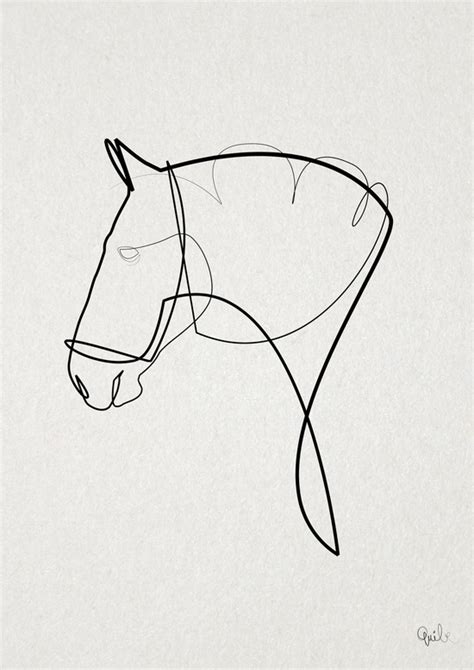 Amazing One Line Illustrations Made With A Single ...