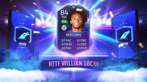 AMAZING WILLIAN RTTF SBC!   FIFA 20 Ultimate Team   YouTube