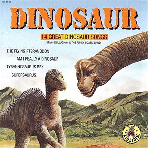 Amazon.com: Dinosaur   14 Great Dinosaur Songs: Brian ...