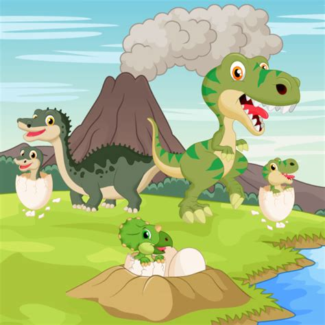 Amazon.com: Dinosaurs game for Toddlers and Kids ...