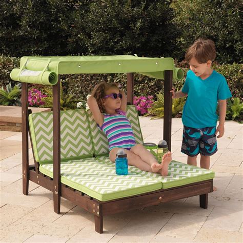 Amazon.com: KidKraft Double Chaise Lounge: Toys & Games ...
