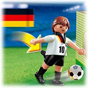 Amazon.com: Playmobil Germany World Cup Soccer Player ...