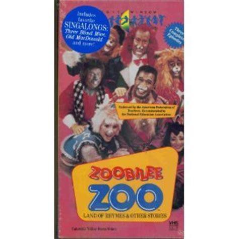 Amazon.com: Zoobilee Zoo:Land of Rhymes & Other [VHS]: Ben ...