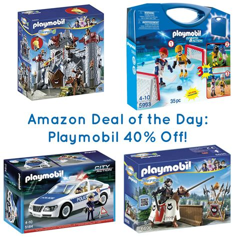 Amazon Deal of the Day   Select Playmobil 40% Off ...