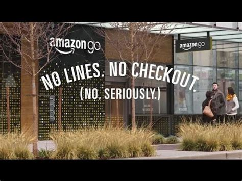 Amazon Go The Future Of Grocery Stores   YouTube