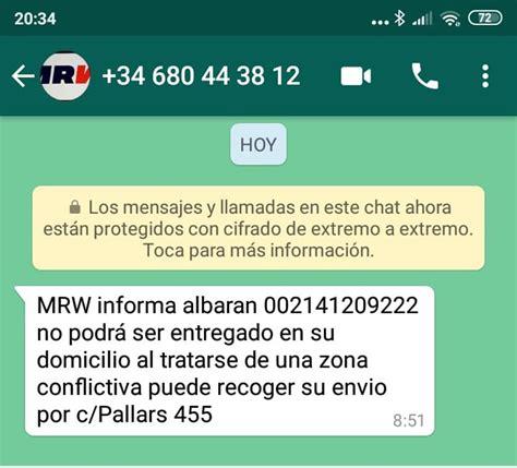 Amazon, MRW y Seur no reparten en parte de Barcelona