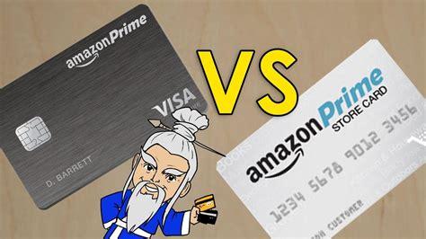 Amazon Prime Visa Rewards VS Amazon Prime Store Card   YouTube