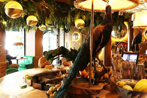 Amazonico Restaurant, a chic point in Madrid.