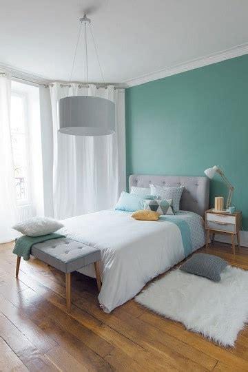Ambientes celestiales en dormitorios color verde agua