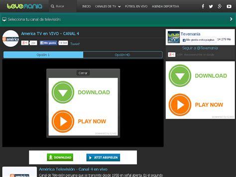 America TV en VIVO   CANAL 4 | TV Online