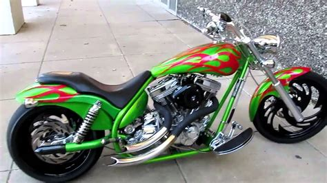 American Ironhorse For Sale Cool Chopper Exhaust   YouTube