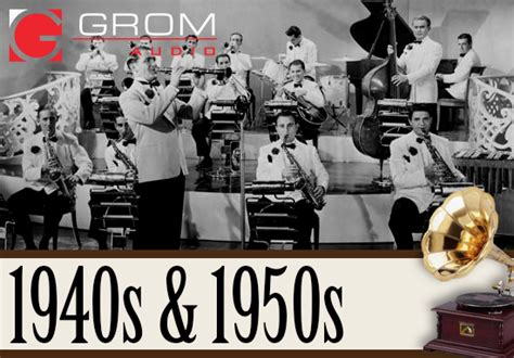American Music History Playlist – 1940's and 1950's | GROM ...