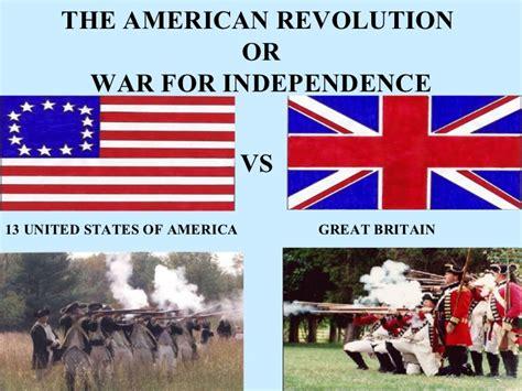American revolution powerpoint 8