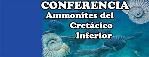Ammonites Del Cretácico Inferior   Facultad de Ingeniería