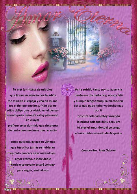 Amor eterno cancion de juan Gabriel | Gotitas de Amor!