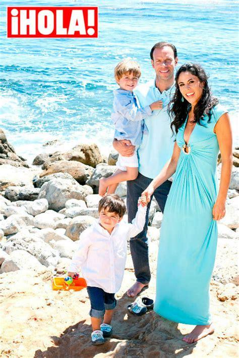 ¡Amor familiar! Paola Rojas,  Zague  y sus gemelos ...