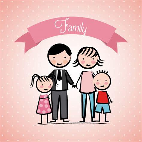 Amor familiar | Vector Premium
