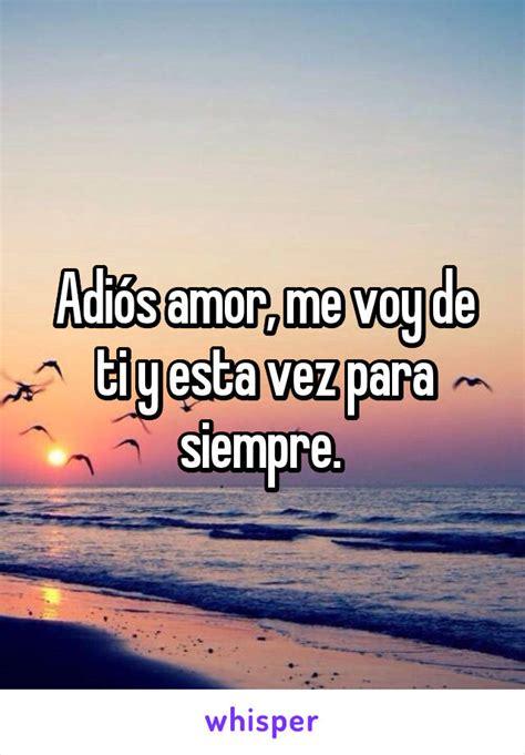 Amor me voy de ti > THAIPOLICEPLUS.COM