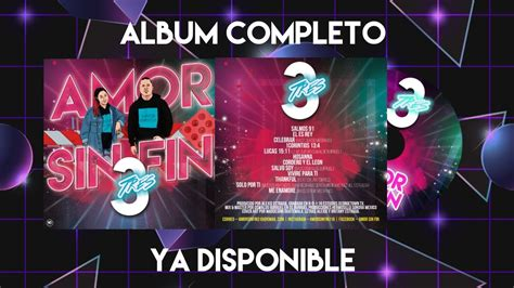 Amor Sin Fin   Tres  Album Completo    YouTube