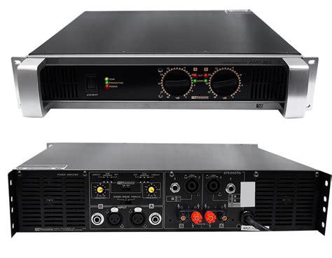 Amplificador Profesional De Audio Yamaha 1200w Rms Es Wow ...