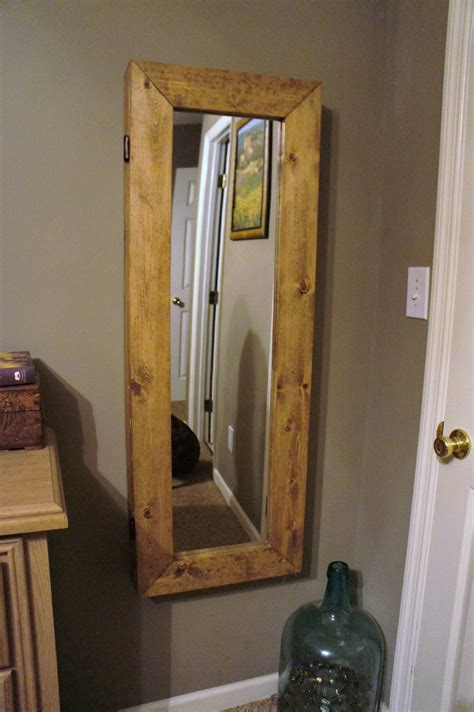 Ana White | Mirror Jewelry Armoire   DIY Projects