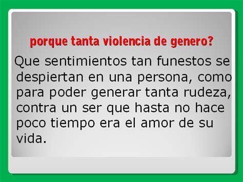 Análisis de la violencia de género   Monografias.com