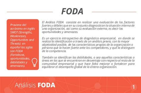 Análisis FODA: Definición, características y ejemplos