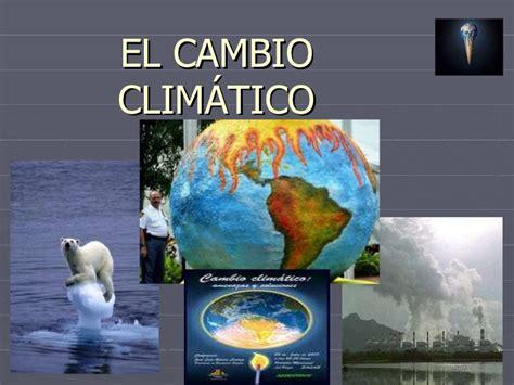 Andres Blog: Cambios climáticos