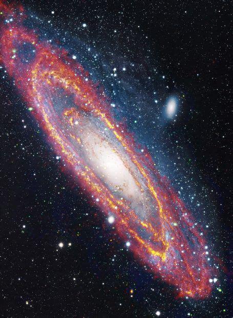 andromeda2   Telescopio espacial, Galaxia andromeda ...