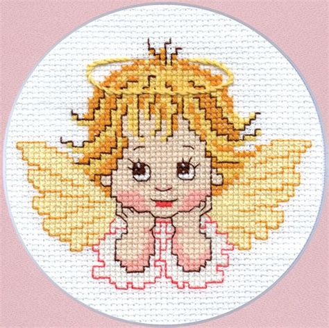 Angel Cross Stitch Pattern Instant Download PDF Simple ...