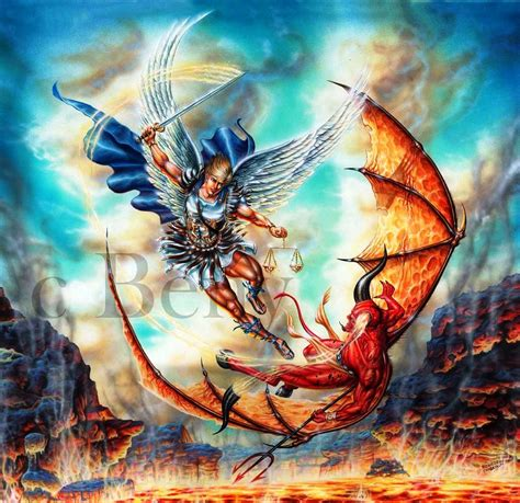 Angeles y Demonios: El Arcángel Miguel