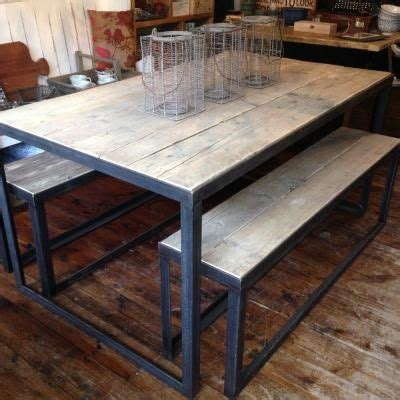 Angle Iron Table | Iron table, Iron table legs, Dining table