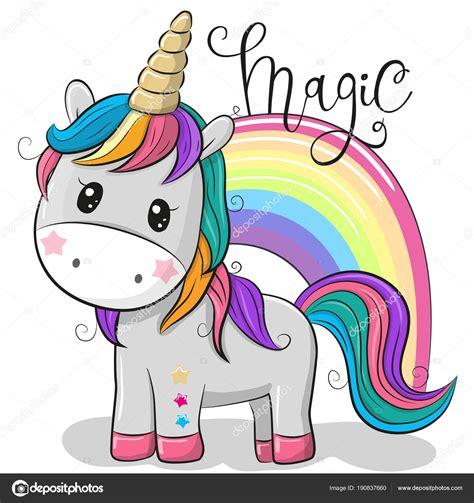 Animado: unicornio dibujo | Dibujos animados unicornio ...