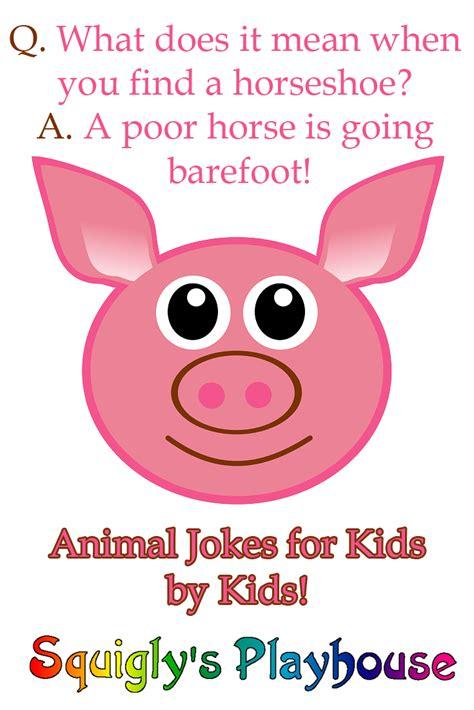 Animal Jokes at Squigly s Playhouse