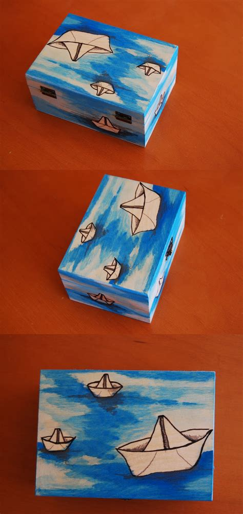 Animalbubble: Cajas de madera, pintadas a mano