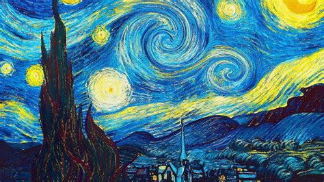 Animated Van Gogh   Beethoven Moonlight Sonata   YouTube