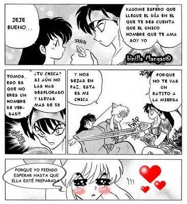 Animes para todos: Comics de Inuyasha divertidos
