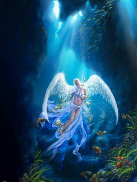 Anjana del bosque: Hadas acuáticas   Seres mitológicos ...