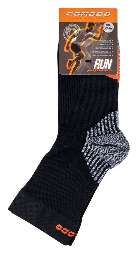 Ankle Compression Running Socks by COMODO | Mens & Ladies UK