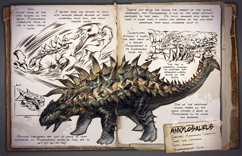 Ankylosaurus | ARK: Survival Evolved Wiki | FANDOM powered ...