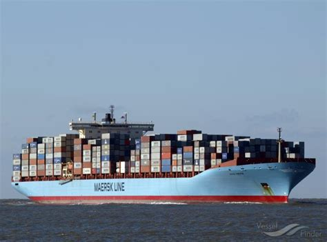 ANNA MAERSK, Container Ship   Details and current position ...