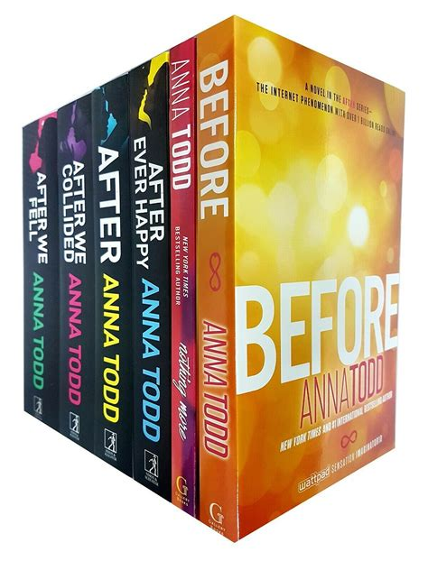 Anna Todd After Series Collection 6 Books Set After We ...