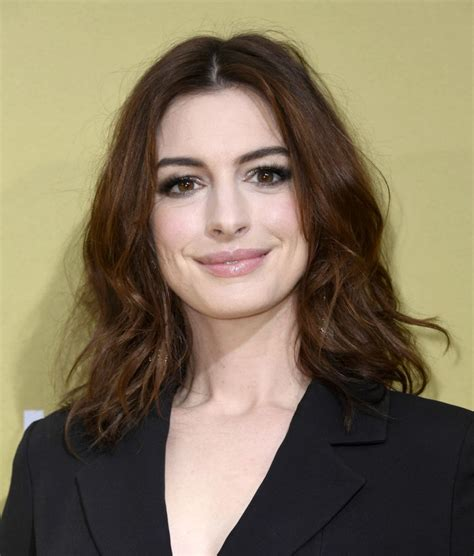 ANNE HATHAWAY at The Hustle Premiere in Hollywood 05/08 ...