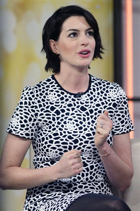 ANNE HATHAWAY at Today Show in New York – HawtCelebs