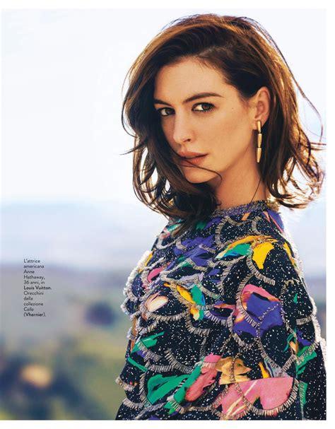 Anne Hathaway   Grazia Italy 05/09/2019