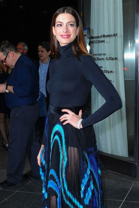 ANNE HATHAWAY Heading to Serenity Premiere in New York 01 ...