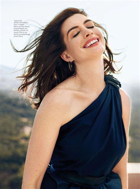 ANNE HATHAWAY in Instyle Magazine, Germany April 2019 ...